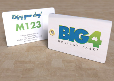 BIG4 Holiday Parks - XL Key Tag