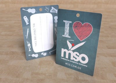 Melbourne Symphony Orchestra Luggage Tag