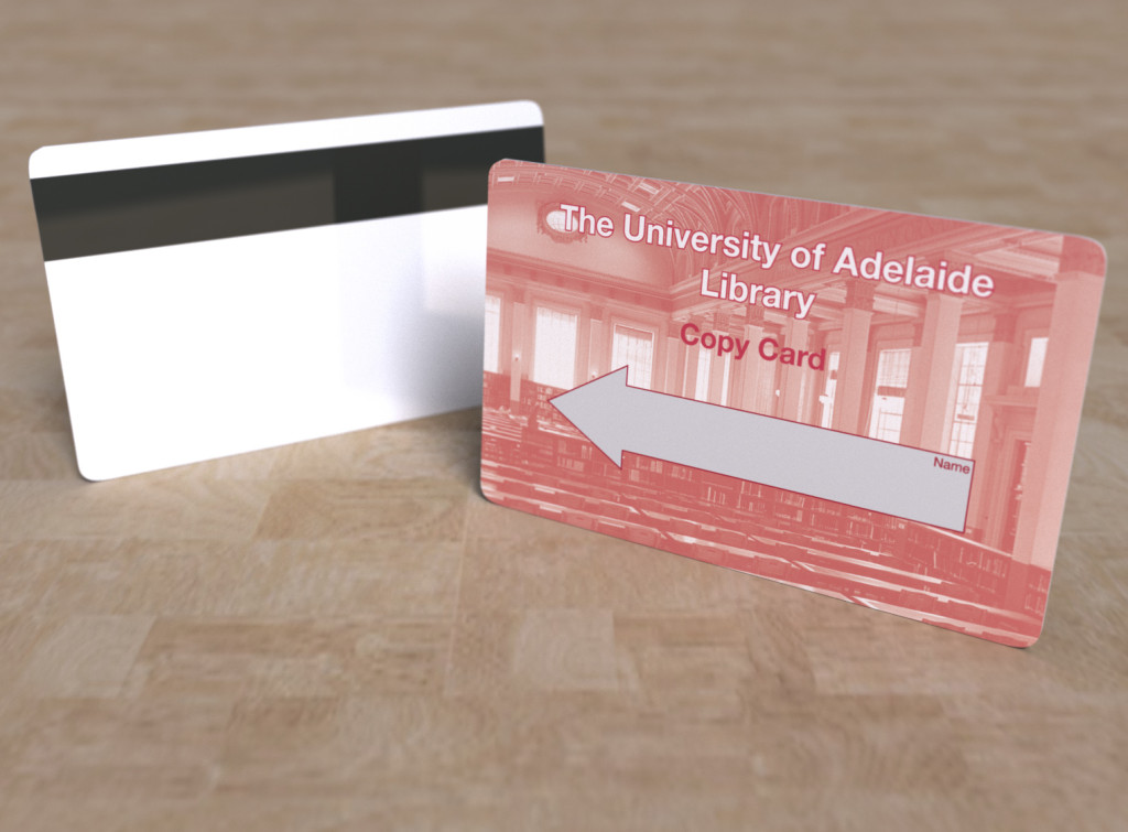 Library cards express print group university of adelaide reheart Gallery